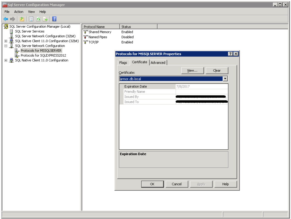 Configuring Datasunrise Sniffer For Ms Sql Server Datasunrise Data