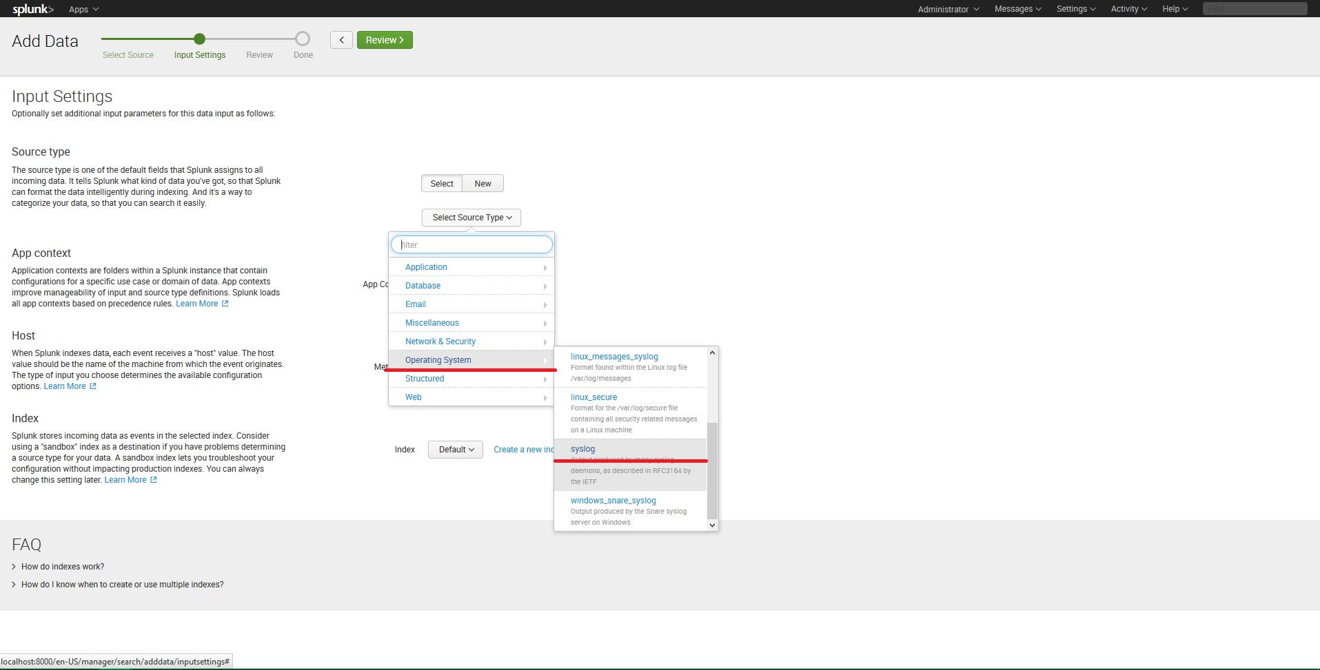 Integrating DataSunrise with Splunk Enterprise   DataSunrise - Data