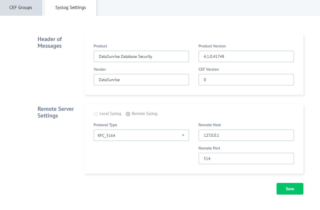 Integrating DataSunrise with Splunk Enterprise | DataSunrise - Data