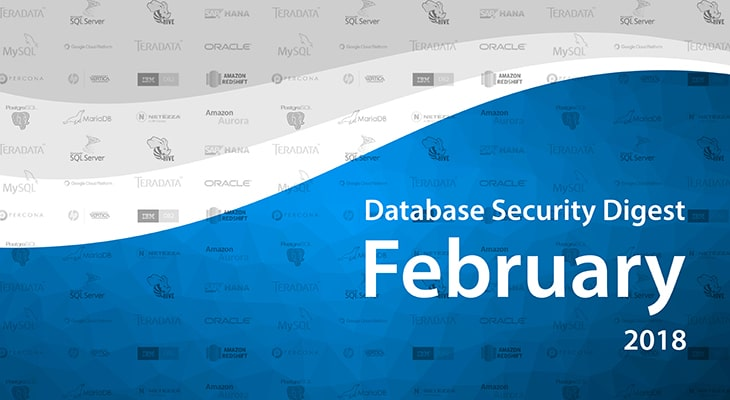 Database Security Digest – February 2018