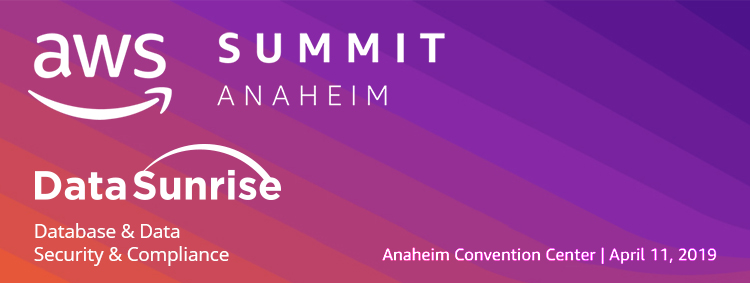 DataSunrise is Attending AWS Summit 2019