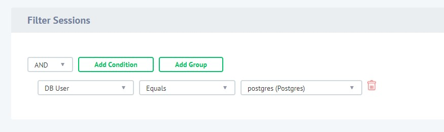 Configuring Filter Session of Dynamic Data Masking Rule