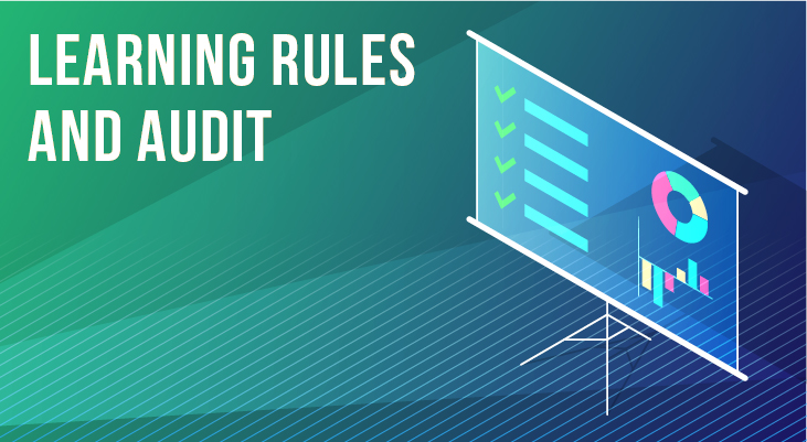 Learning Rules and Audit