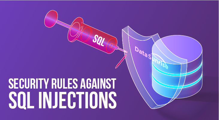 Security Rules Against SQL Injections