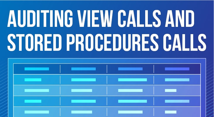 Auditing View Calls and Stored Procedures Calls