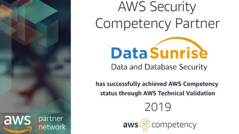 DataSunrise Achieves AWS Security Competency Status