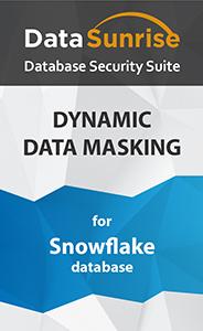 DataSunrise Data Masking for Snowflake