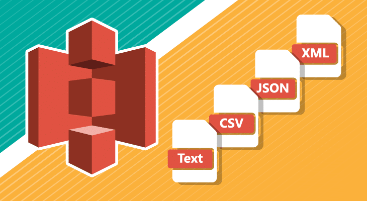 Masking XML, JSON, CSV and Unstructured Text on Amazon S3